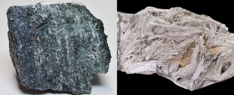 Actinolite and Tremolite Asbestos